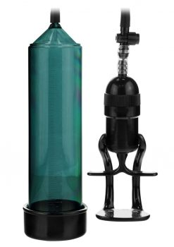 Linx Grip Pump Latex Free Penis Pump Green/Black