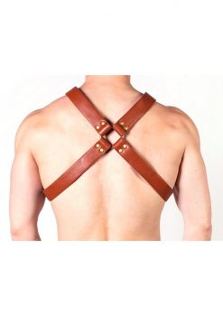 Prowler Red X Harness Brn/brs Xxl