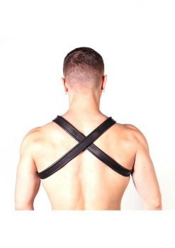 Prowler Red Cross Harness Blk/grn S/m