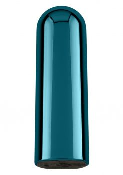 Glam Multi Function Bullet Waterproof USB Rechargeable Blue