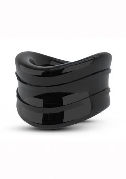 Stay Hard Beef Ball Stretcher X Long  Cock Ring Black