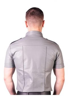 Prowler Red Slim Police Shirt Leather Grey XXL
