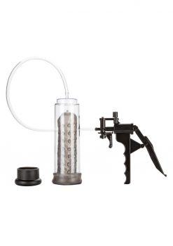 PISTOL PUMP WITH SENSO SLEEVE8 INCH CLEAR