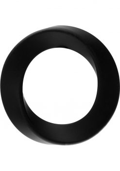 Rock Rings The Hellfire Xl Silicone Ring Black