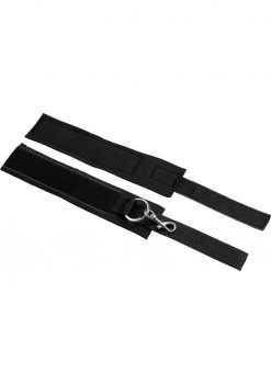 Master Series Interlace Bed Restraint Set Black