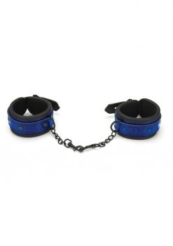 Whip Smart Diamond Hand Cuff Blue