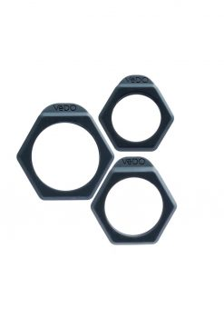 Bolt C Ring Set Just Black