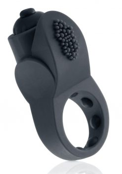 PrimO Apex Silicone Vibrating Ring - Black