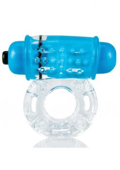 ColorPop O Wow Vibrating Ring - Blue
