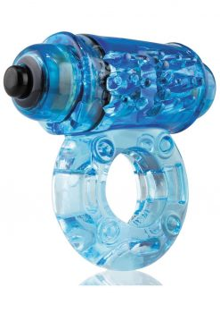 O Wow Vibrating Ring - Blue