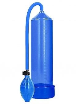 Pumped By Shots Classic Penis Pump - Blue