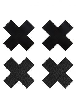 Peekaboo Classic Black X Pasties
