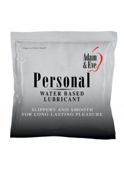 Adam andamp; Eve Personal Lubricant Foil Packs (144 Per Bowl)