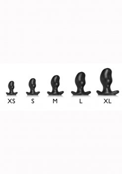 Oxballs Ergo Silicone Butt Plug - Small - Smoke Smoosh