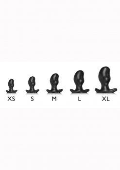 Oxballs Ergo Silicone Butt Plug - Xlarge - Smoke Smoosh