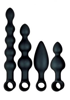 Anal Ese Coll Vibe Anal Fantasy Kit Blk