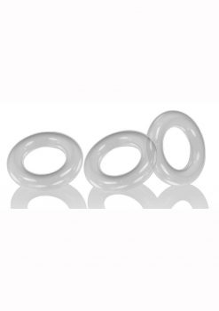 Oxballs Willy Rings 3pk Clear