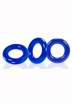 Oxballs Willy Rings 3pk Blue