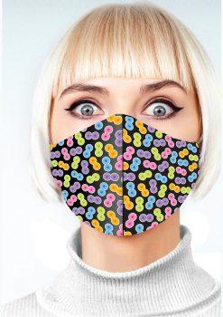 Super Fun Boobie Mask - Multicolor