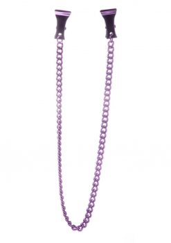 Ouch! Pinch Nipple Clamps - Purple