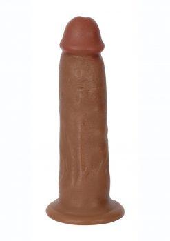 Jock Bareskin Realistic Dong 7in - Caramel