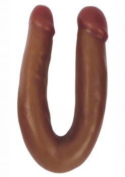 Thinz Double Dipper Slim Double Dong - Chocolate