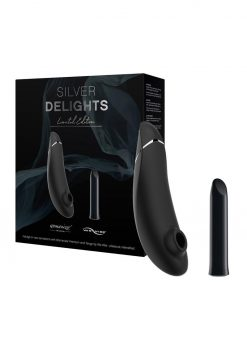 We-Vibe Silver Delights Collection (Set of 2) - Black/Silver