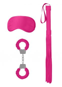 Ouch! Kits Introductory Bondage Kit #1 3pc - Pink