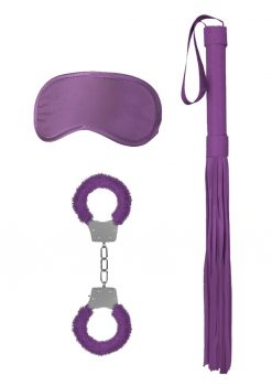 Ouch! Kits Introductory Bondage Kit #1 3pc - Purple