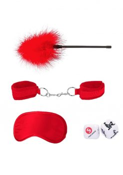 Ouch! Kits Introductory Bondage Kit #2 4pc - Red