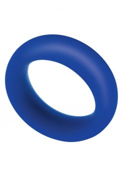 Zolo Extra Thick Silicone Cock Ring - Navy