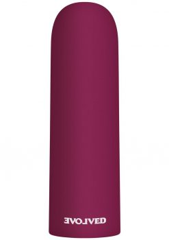 Mighty Thick Rechargeable Bullet Vibrator - Red