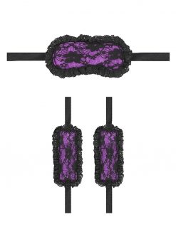 Ouch! Kits Introductory Bondage Kit #7 2pc - Purple