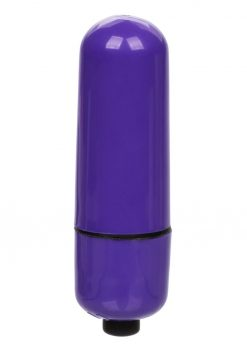 Foil Pack 3-Speed Bullet Vibrator - Purple