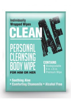 Clean AF Wipes (16 Per Box)