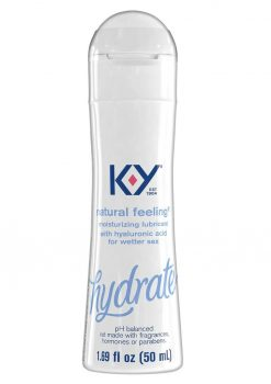 KY Hydrate Natural Feeling Moisturizing Lubricant With Hyaluronic Acid 1.69oz