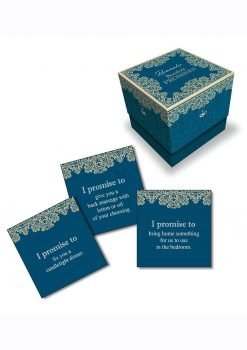 Romantic Boudoir Promises Card Game